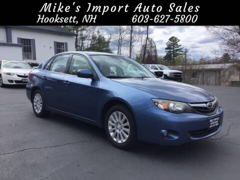 2010 Subaru Impreza for sale at Mikes Import Auto Sales INC in Hooksett NH