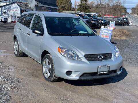 2006 Toyota Matrix for sale at Saratoga Motors in Gansevoort NY