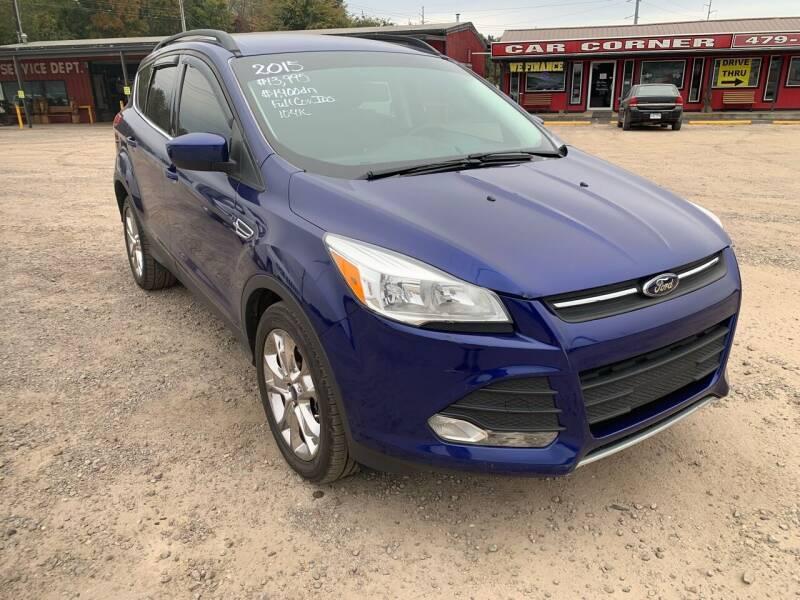 2015 Ford Escape for sale at CAR CORNER in Van Buren AR