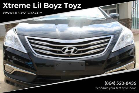 2016 Hyundai Azera for sale at Xtreme Lil Boyz Toyz in Greenville SC