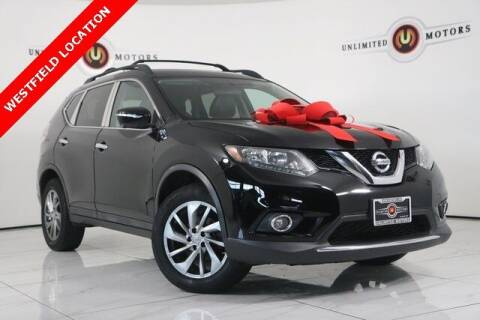 2015 Nissan Rogue for sale at INDY'S UNLIMITED MOTORS - UNLIMITED MOTORS in Westfield IN