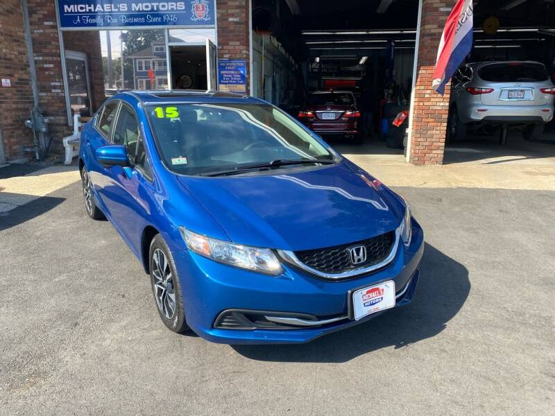 2015 Honda Civic for sale at Michaels Motor Sales INC in Lawrence MA