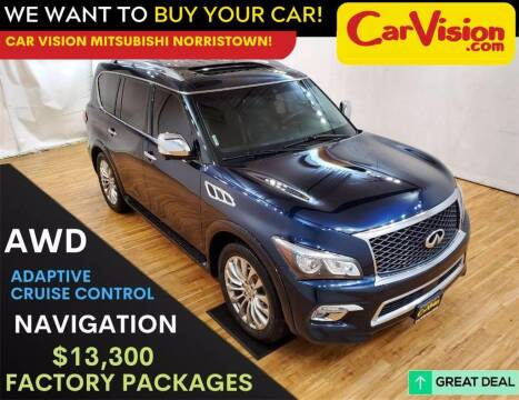 2017 Infiniti QX80 for sale at Car Vision Mitsubishi Norristown in Trooper PA