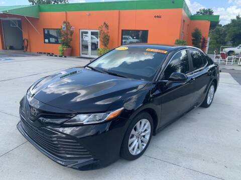 2018 Toyota Camry for sale at Galaxy Auto Service, Inc. in Orlando FL