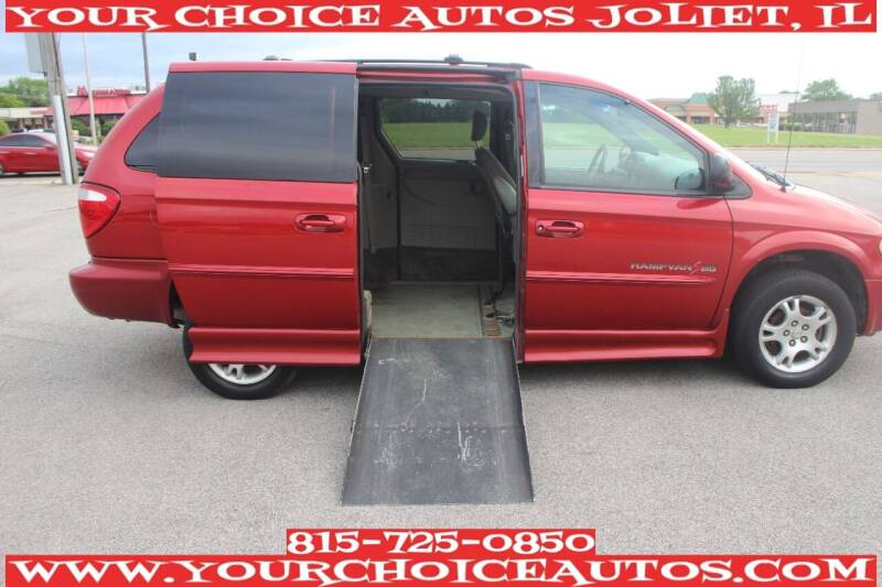 2002 Dodge Grand Caravan for sale at Your Choice Autos - Joliet in Joliet IL