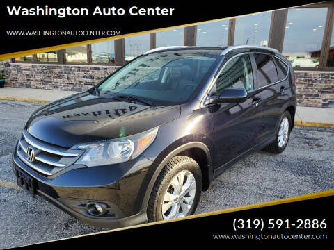 2013 Honda CR-V for sale at Washington Auto Center in Washington IA
