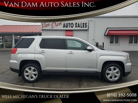 2017 GMC Terrain for sale at Van Dam Auto Sales Inc. in Holland MI