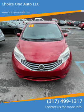 2014 Nissan Versa Note for sale at Choice One Auto LLC in Beech Grove IN
