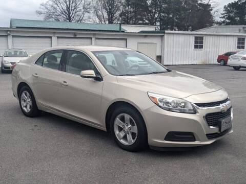 2015 Chevrolet Malibu for sale at Best Used Cars Inc in Mount Olive NC