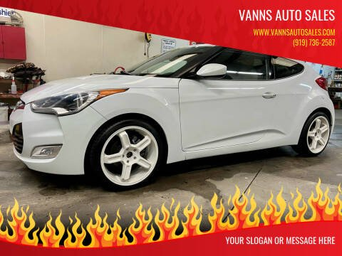 2012 Hyundai Veloster for sale at Vanns Auto Sales in Goldsboro NC