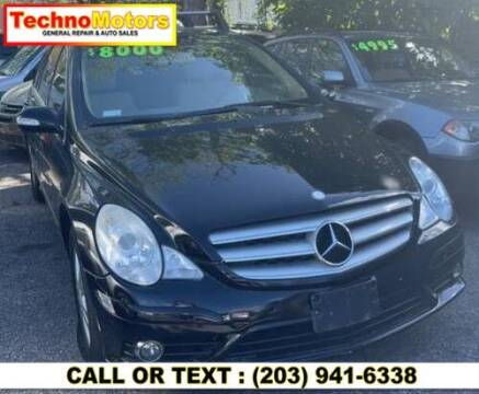 2008 Mercedes-Benz R-Class for sale at Techno Motors in Danbury CT