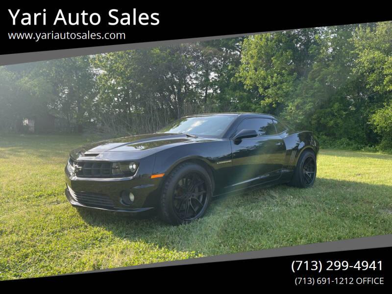 2010 Chevrolet Camaro for sale at Yari Auto Sales in Houston TX