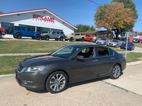 2013 Honda Accord for sale at Efkamp Auto Sales LLC in Des Moines IA