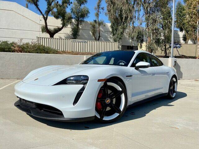 2021 Porsche Taycan for sale at Allen Motors, Inc. in Thousand Oaks CA