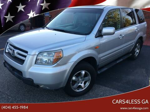 2007 Honda Pilot for sale at Cars4Less GA in Alpharetta GA