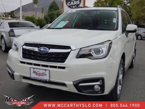 2018 Subaru Forester for sale at McCarthy Wholesale in San Luis Obispo CA