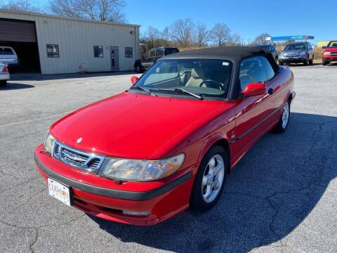 2001 Saab 9-3 for sale at Brewster Used Cars in Anderson SC