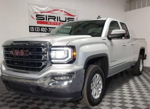 2018 GMC Sierra 1500 for sale at SIRIUS MOTORS INC in Monroe OH