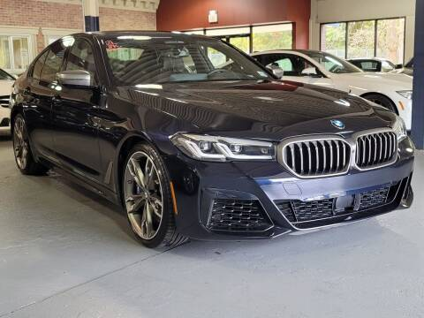 2021 BMW 5 Series for sale at AW Auto & Truck Wholesalers  Inc. in Hasbrouck Heights NJ