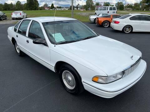 1996 Chevrolet Caprice for sale at Hillside Motors in Jamestown KY
