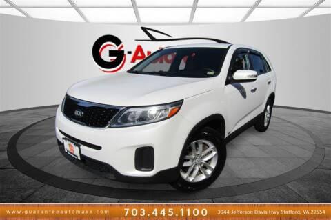 2014 Kia Sorento for sale at Guarantee Automaxx in Stafford VA