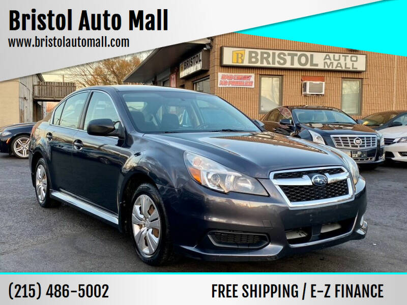 2013 Subaru Legacy for sale at Bristol Auto Mall in Levittown PA