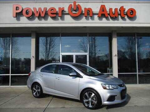 2017 Chevrolet Sonic for sale at Power On Auto LLC in Monroe NC