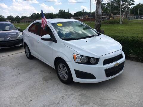 2014 Chevrolet Sonic for sale at PICAZO AUTO SALES in South Houston TX