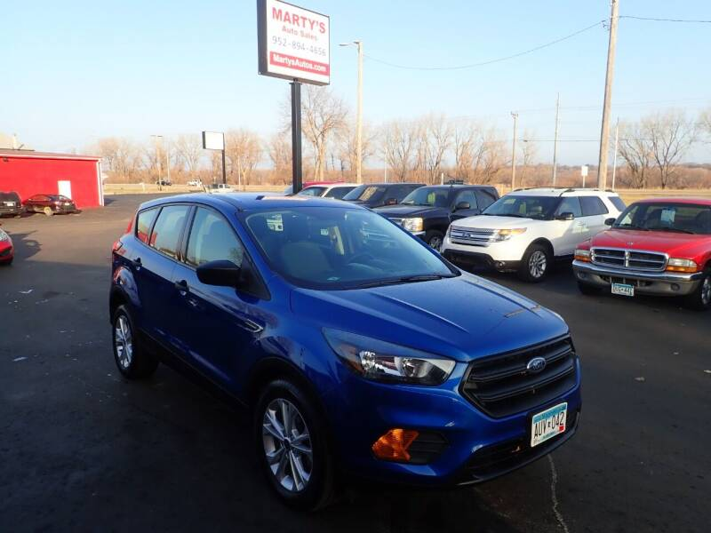 2018 Ford Escape for sale at Marty's Auto Sales in Savage MN