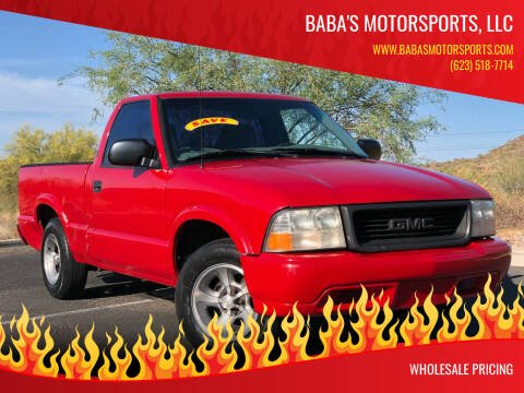 2000 GMC Sonoma for sale at Baba's Motorsports, LLC in Phoenix AZ