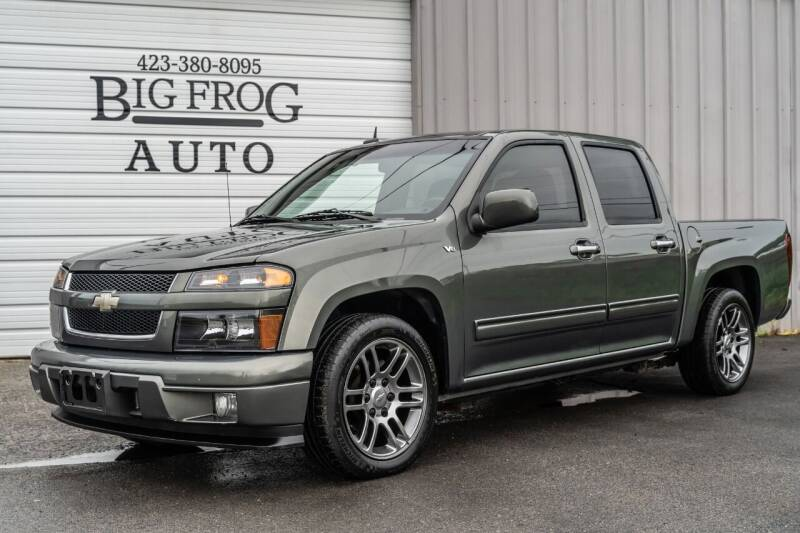 2010 Chevrolet Colorado for sale at Big Frog Auto in Cleveland TN