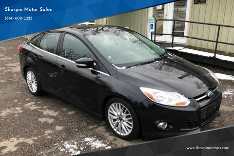 2012 Ford Focus for sale at Sharpin Motor Sales in Columbus OH