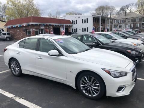 2018 Infiniti Q50 for sale at 5 Corner Auto Sales Inc. in Brockton MA