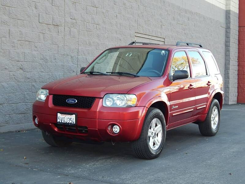 2007 Ford Escape Hybrid for sale at Gilroy Motorsports in Gilroy CA
