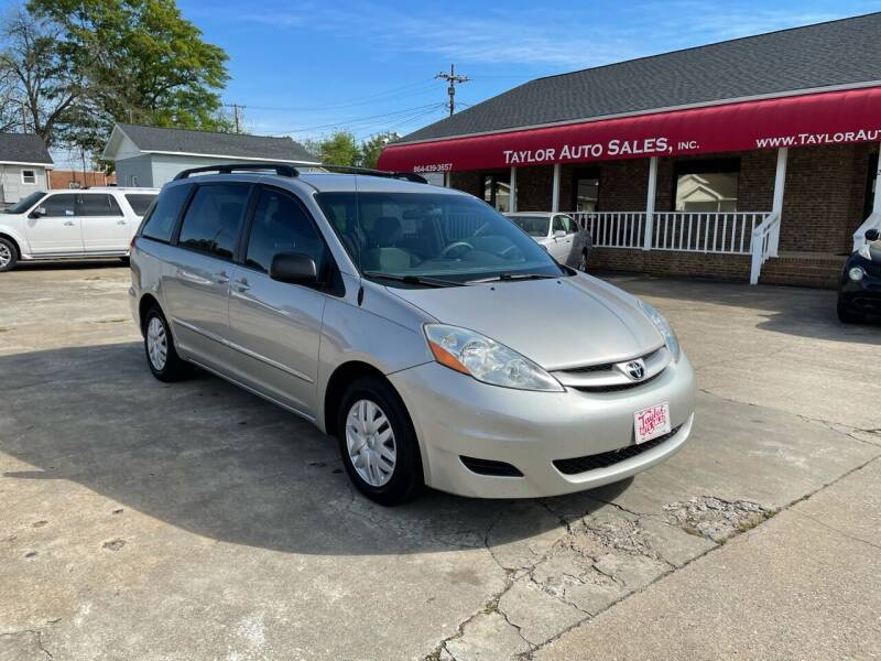 2010 Toyota Sienna for sale at Taylor Auto Sales Inc in Lyman SC