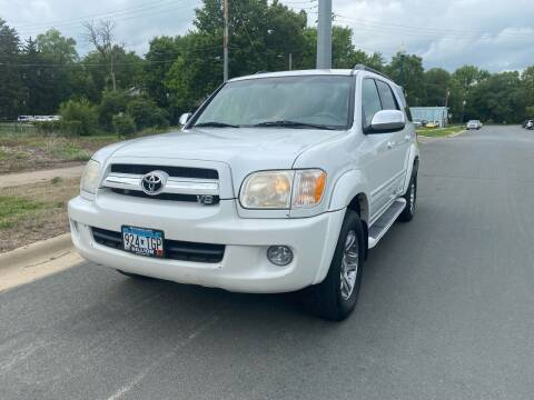 2007 Toyota Sequoia for sale at ONG Auto in Farmington MN