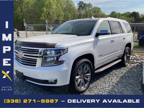 2016 Chevrolet Tahoe for sale at Impex Auto Sales in Greensboro NC