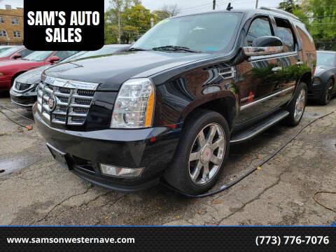 2014 Cadillac Escalade for sale at SAM'S AUTO SALES in Chicago IL