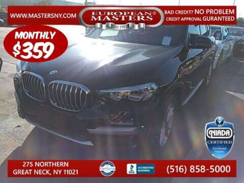 2019 BMW X3 for sale at European Masters in Great Neck NY