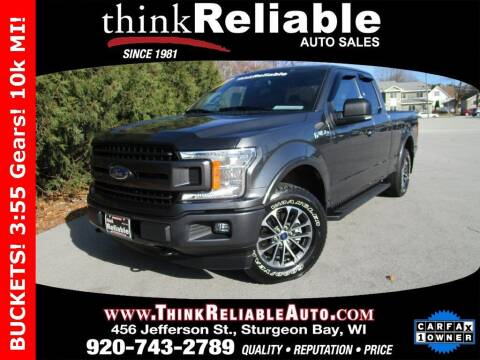 2018 Ford F-150 for sale at RELIABLE AUTOMOBILE SALES, INC in Sturgeon Bay WI