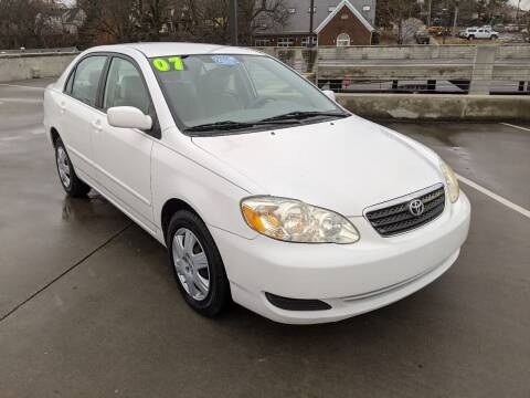 2007 Toyota Corolla for sale at QC Motors in Fayetteville AR