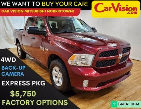 2017 RAM Ram Pickup 1500 for sale at Car Vision Mitsubishi Norristown in Trooper PA
