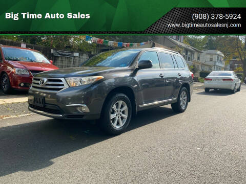 2011 Toyota Highlander for sale at Big Time Auto Sales in Vauxhall NJ