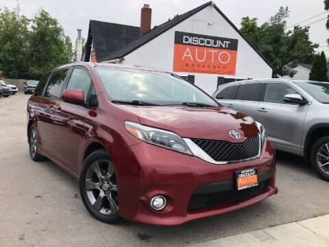 2016 Toyota Sienna for sale at Discount Auto Brokers Inc. in Lehi UT