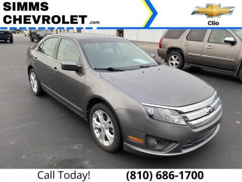 2012 Ford Fusion for sale at Aaron Adams @ Simms Chevrolet in Clio MI