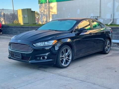 2014 Ford Fusion for sale at Community Buick GMC in Waterloo IA