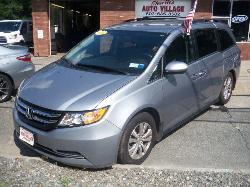 2016 Honda Odyssey for sale at Charlies Auto Village in Pelham NH