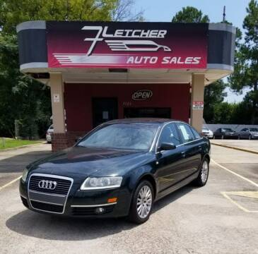 2007 Audi A6 for sale at Fletcher Auto Sales in Augusta GA