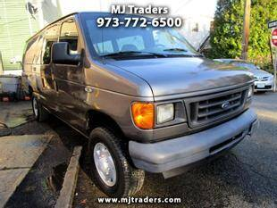 2007 Ford E-Series Wagon for sale at M J Traders Ltd. in Garfield NJ