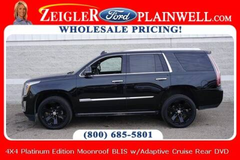 2019 Cadillac Escalade for sale at Zeigler Ford of Plainwell- Jeff Bishop in Plainwell MI